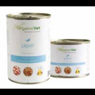 LIGHT Cibo umido dietetico pollo e riso per CANI | ORGANIC VET
