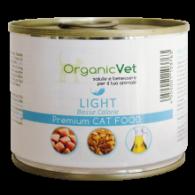 LIGHT Cibo umido dietetico per GATTI 200g | ORGANIC VET