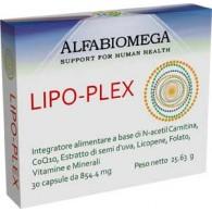 LIPO-PLEX FORTE Integratore cuore e sistema circolatorio 30 CPS | ALFABIOMEGA