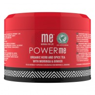POWER ME Infuso a base di Moringa e Ginger 100 G | ME MORINGA FOR LIFE