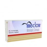 MECLON | Crema vaginale 30 g 20% + 4% con 6 Applicatori