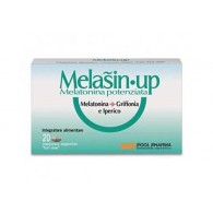 MELASIN UP Melatonina Potenziata 60 cpr | POOL PHARMA