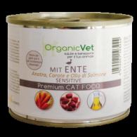 MIT ENTE Cibo umido anatra con carote per GATTI | ORGANIC VET - Sensitive