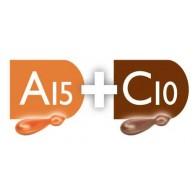 C10 + A15 Combinazione per pelli miste  mature | MONODERMÀ