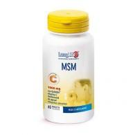 MSM 1000 mg con Vitamina C e Bioflavonoidi 60 cpr | LONGLIFE
