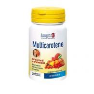 MULTICAROTENE 6 Carotenoidi naturali 30 PERLE | LONGLIFE