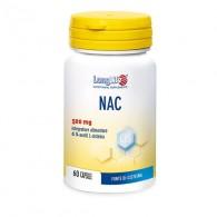 NAC 500 mg Antiossidante e benessere vie respiratorie 60 cps | LONGLIFE