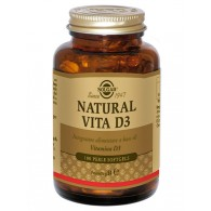 NATURAL VITA D3 Vitamina D naturale (olio di fegato di pesce) 100 perle | SOLGAR