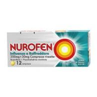 NUROFEN INFLUENZA E RAFFREDDORE | 12 compresse 200mg + 30 mg