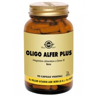 OLIGO ALFER PLUS Integratore di Ferro Chelato 90 cps vegetali | SOLGAR