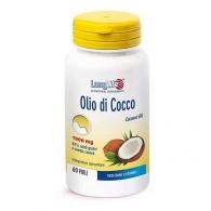 OLIO DI COCCO 1000 mg funzione energetica 60 PERLE   LONGLIFE