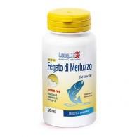 OLIO DI FEGATO DI MERLUZZO 1000 mg 60 prl | LONGLIFE
