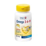 OMEGA 3-6-9 Integratore di omega 3-6-9 (da oli di pesce, di borragine e di lino) 50 prl | LONGLIFE