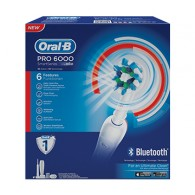 PRO 6000 Spazzolino Elettrico con Bluetooth e Smart Guide | ORAL B - Professional Care
