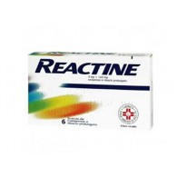 REACTINE | 6 Compresse 5 mg + 120 mg