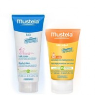 BIPACK Spray solare 50+ 200 ml con omaggio detergente | MUSTELA - Solari