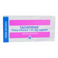TACHIPIRINA Prima Infanzia | 10 Supposte 125 mg