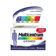 MULTICENTRUM UOMO Integratore 30 cpr | MULTICENTRUM