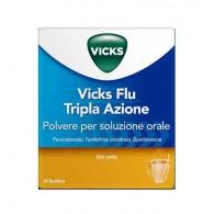 VICKS FLU TRIPLA AZIONE | 10 Bustine