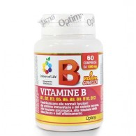 VITAMINE B COMPLEX 60 cpr | OPTIMA NATURALS - Colours of Life