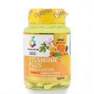 VITAMINA C PLUS 60 cps | OPTIMA NATURALS - Colours of life