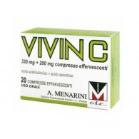 VIVIN C | 20 Compresse Effervescenti 330 + 200 mg