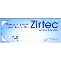 10 COMPRESSE Rivestite 10 mg | ZIRTEC