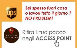 Spedizione Ups Access Point | Bravi Farmacie