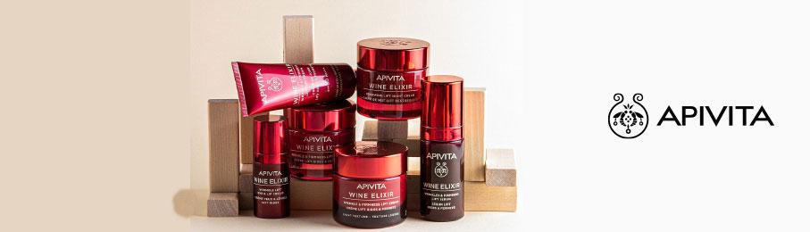 prodotti anti rughe Wine Elixir di Apivita - Bravi Farmacie