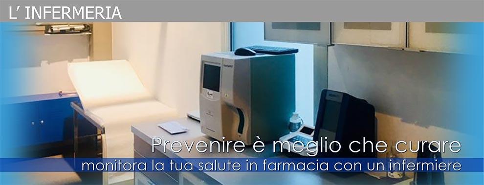L'infermeria - Prestazioni infermieristiche in farmacia e a domicilio | Bravi Farmacie