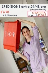 spedizione e consegna Bravi Farmacie Shop online