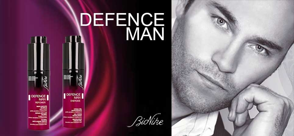 Bionike Uomo prodotti cosmetici Defence Man | Bravi Farmacie Online