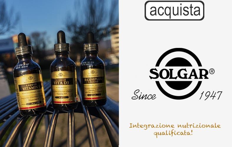 Solgar integratori alimentari - Bravi Farmacie Online